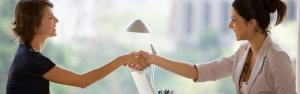 Handshake Woman